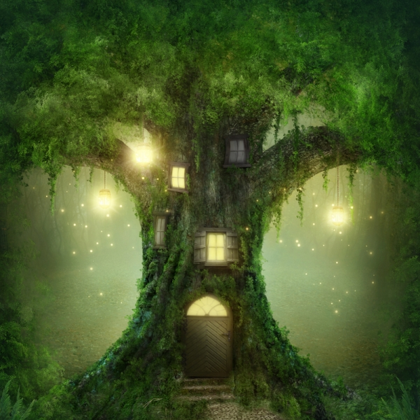 Lesní dům pro manžele Dendrovi